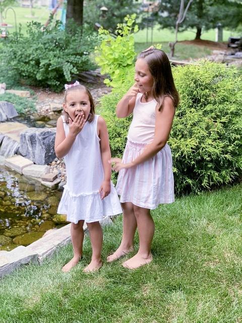w #summerstyle #cotton #linen #daughters #samebutdifferent #jcrew #crewcuts #jcrewfactory #jcrewalways #jcrewstyle #girlsootd