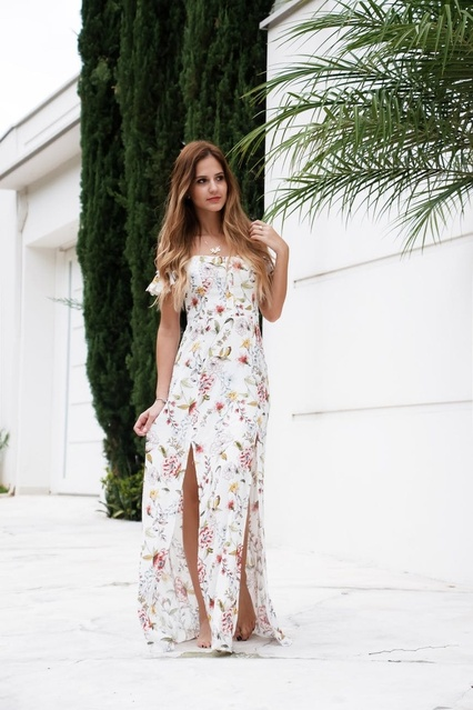 r $100! Check out my favorite floral dresses all for less than $100 and perfect for weddings!  #ShopStyle #MyShopStyle #Party