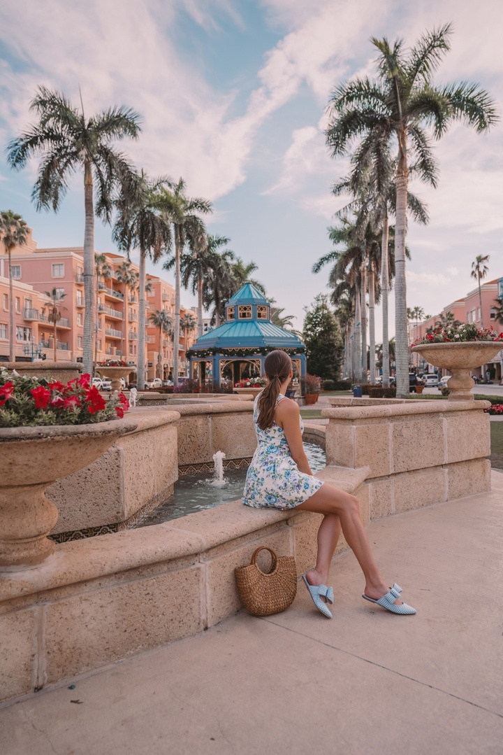 Spent the day in Boca Raton wearing my favorite summer dress by Zimmermann #zimmermann #ShopStyle #MyShopStyle #LooksChallenge #ContributingEditor #Holiday #Lifestyle #Travel #Vacation