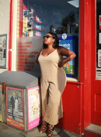 Stay neutral #ShopStyle #shopthelook #SpringStyle #SummerStyle #WeekendLook #TravelOutfit #BeachVacation #FestivalLooks #OOTD #MyShopStyle #jumpsuit #asoscurve #plussize #neutral #beige #nude