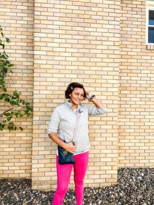 Look by Chaka Blanford featuring Women's L.L.Bean Sweater Fleece Pullover