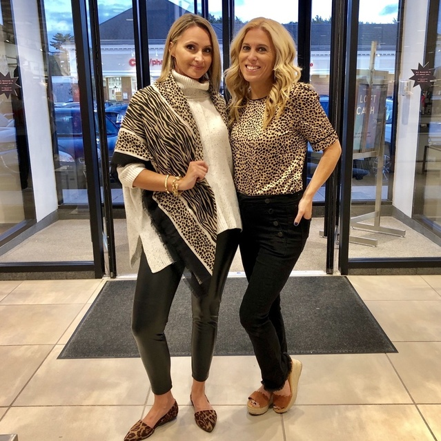ad to toe here!! We're all about the cheetah and faux leather! #ShopStyle #MyShopStyle #Lifestyle #FallFashion #Fashionover40