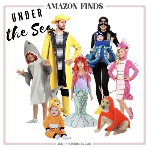 Under the Sea Halloween Group Costume