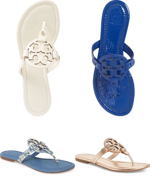 Tory Burch Millers still available in multiple sizes! #toryburch #miller #toryburchmillers #sandals #salealert