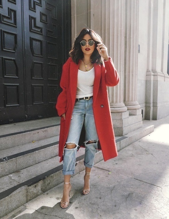 There's something about the color red that brings out the boss lady in me. 💃🏻Happy Valentine's Day loves! 💋  #red #denimstyle #vday #ShopStyle #ssCollective #MyShopStyle #fallfashion #summerstyle #mylook #ShopStyleFestival #lookoftheday #currentlywearing #todaysdetails #getthelook #wearitloveit #shopthelook #ootd