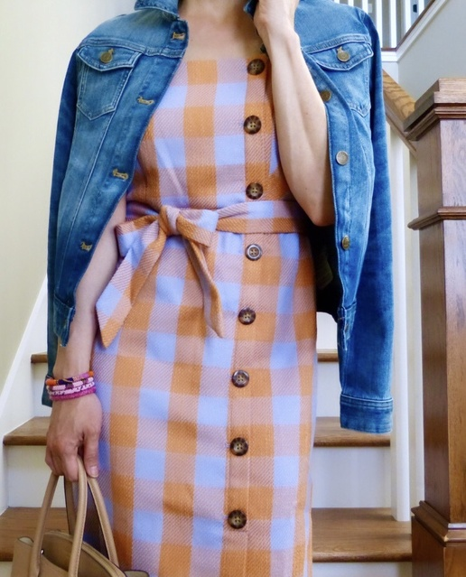 us this cute dress is currently on sale + promo 🍊 #anntaylor #jcrew #crewcuts #etsy #respecttheshoes #ShopStyle #MyShopStyle