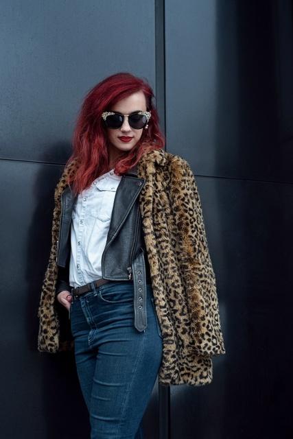 Rock'nRoll Look #ShopStyle #MyShopStyle #winterlook #fashionlook #dailyootd #doublecoatlook #stylishoutfit #rocknrollinspired