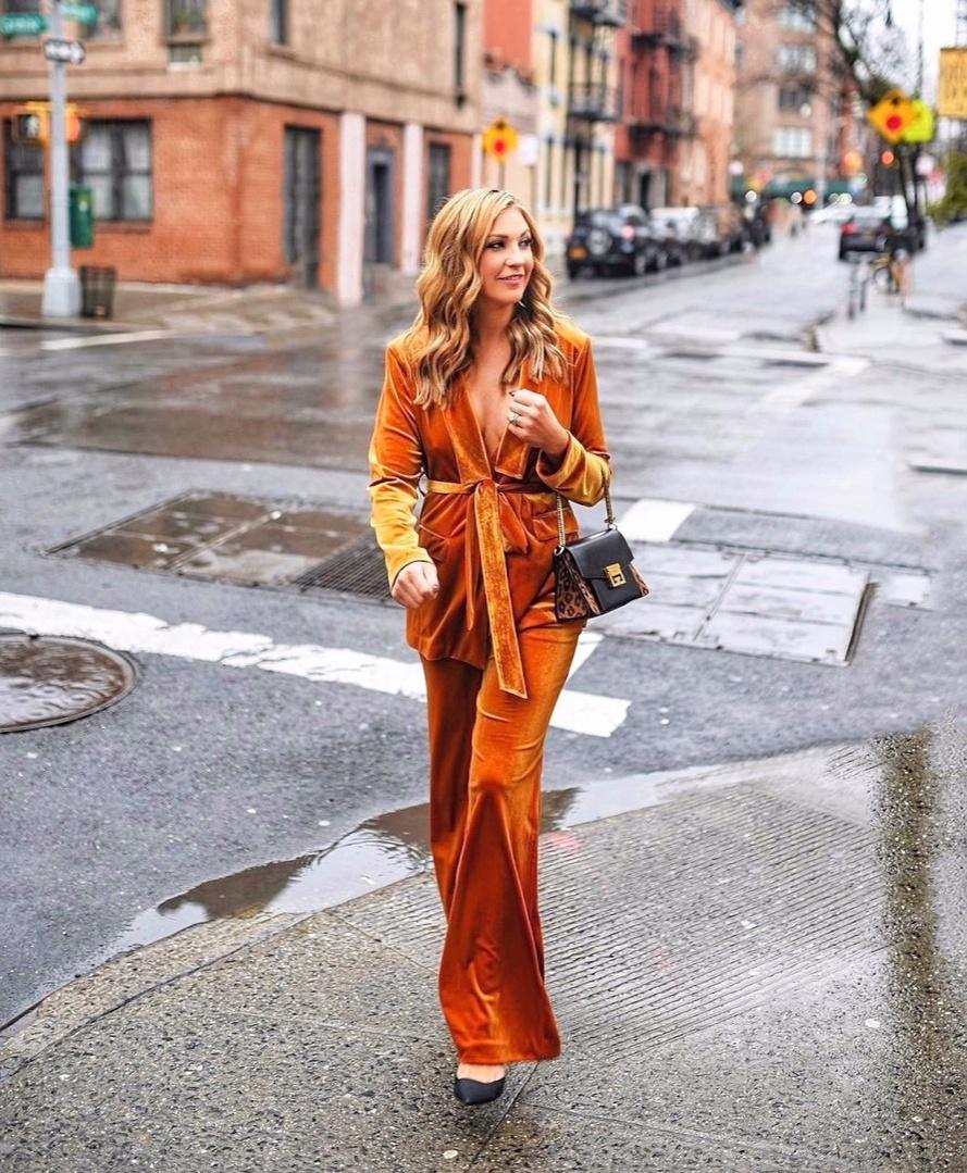 #ShopStyle #MyShopStyle #ContributingEditor #Winter #TrendToWatch #suiting #leopard #givenchy #velvetsuit #newyorkfashionweek