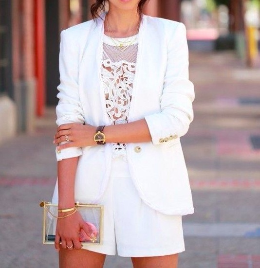 COOL AND BOLD SUMMER SUITS #fashion #suits #summerstyle #white #pink #MyShopStyle