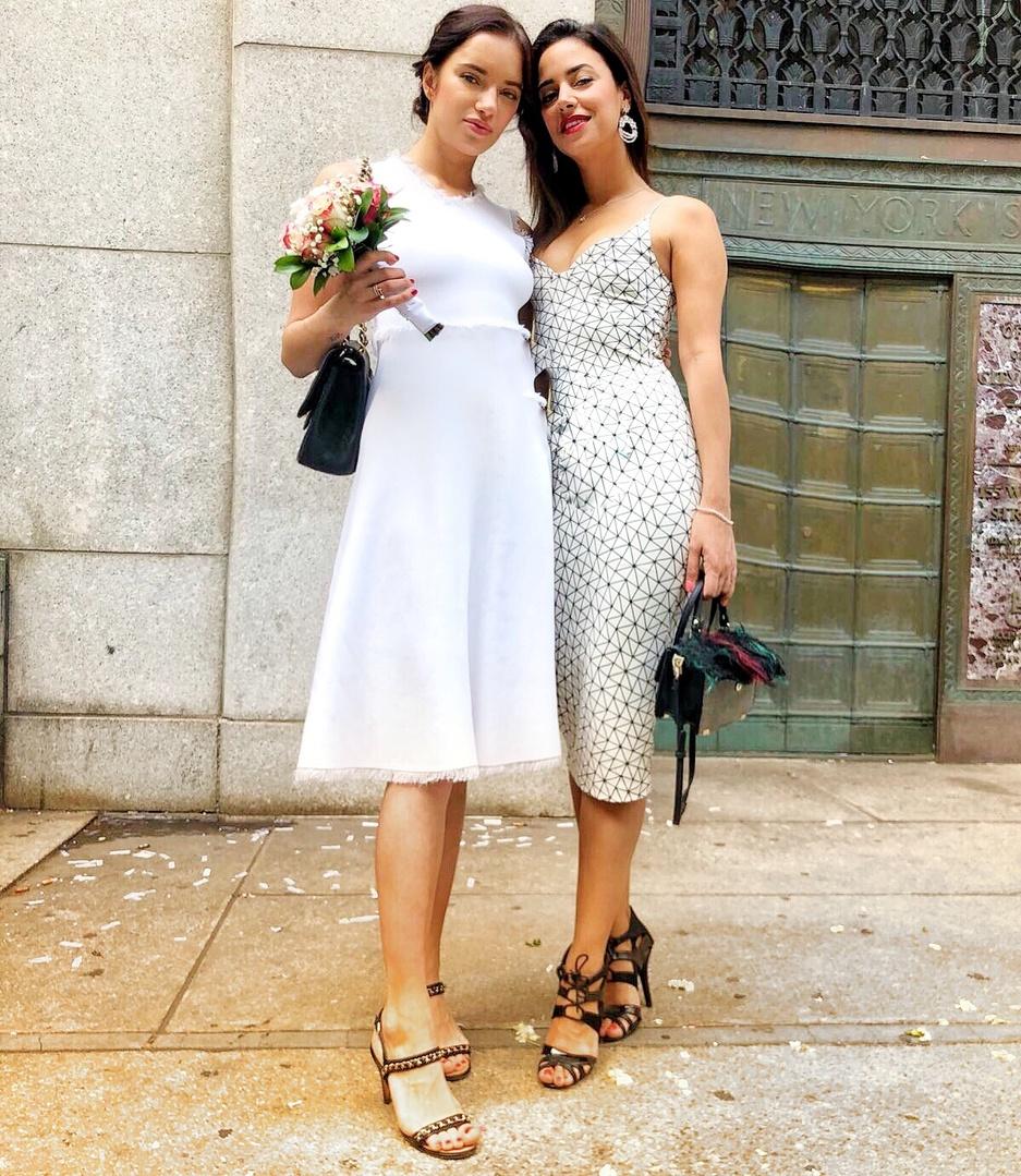 look #SpringStyle #SummerStyle #wedding #weddingdress #cocktaildress #MyShopStyle #WeddingGuestLooks #NYFW #WeekendLook #OOTD