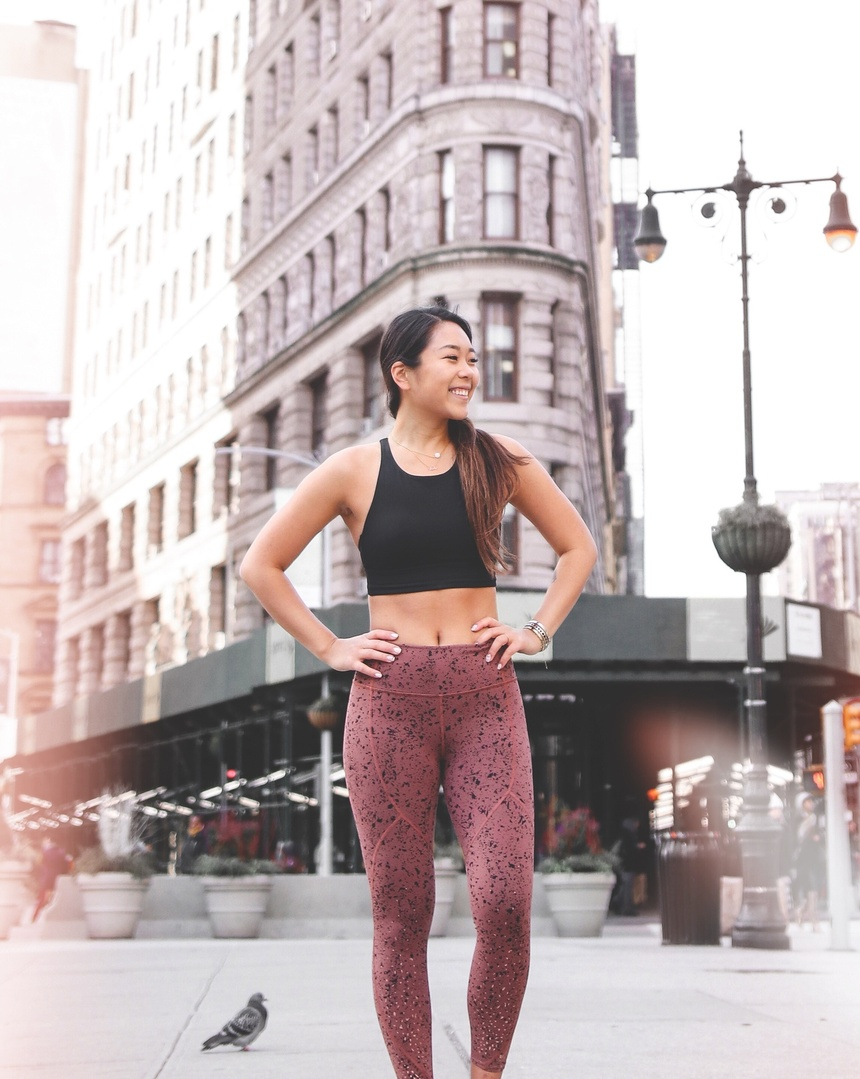 """Look by remy7 featuring Lululemon To The Beat Tight Reflective 24"""" *lululemon X SoulCycle"""