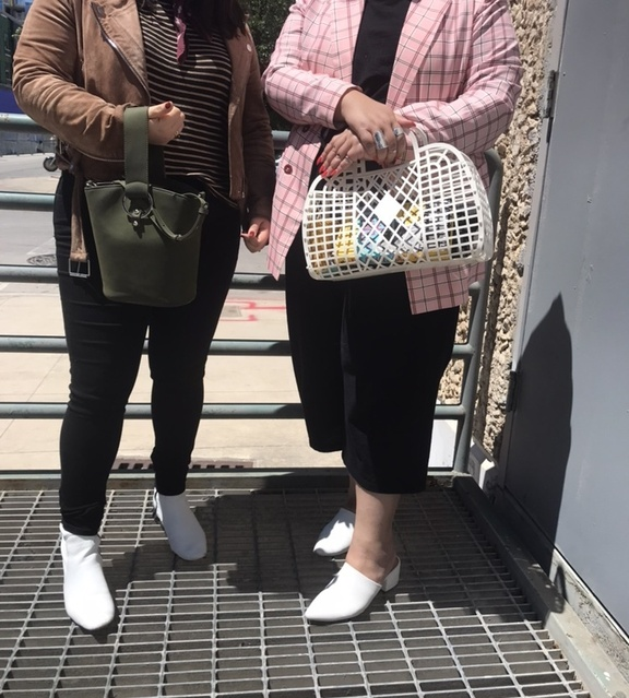 Trend Spotter 🔭 Bucket Bags and See-through purses 👛 make an appearance for spring. #ShopStyle #MyShopStyle #LooksChallenge