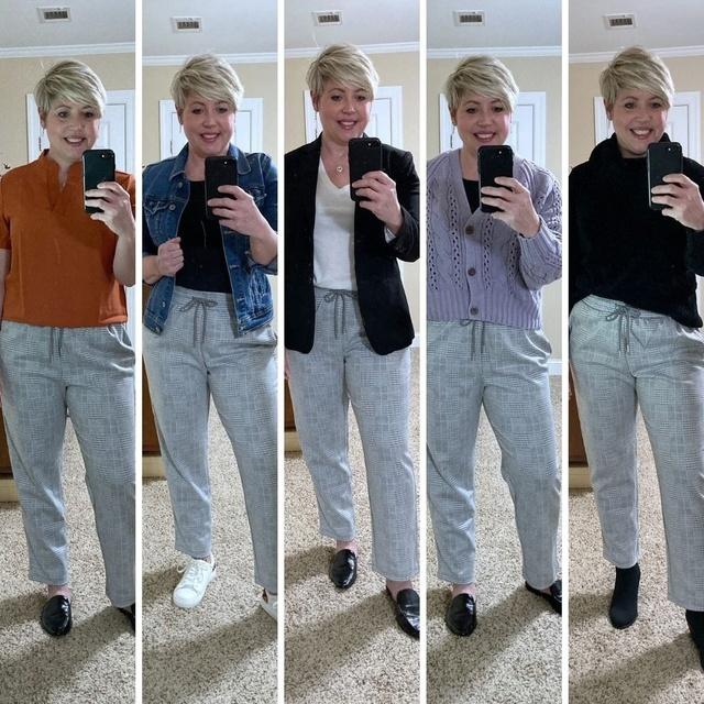 Comfy pants five ways #ShopStyle #MyShopStyle #fallstyle #waystowear