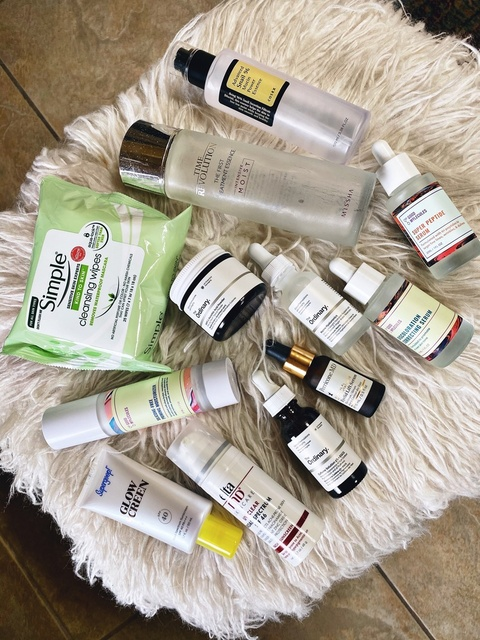 orning skincare favorite round-up (find all Good Molecules brand at Beautylish.com) #ShopStyle #MyShopStyle #skincare #Beauty