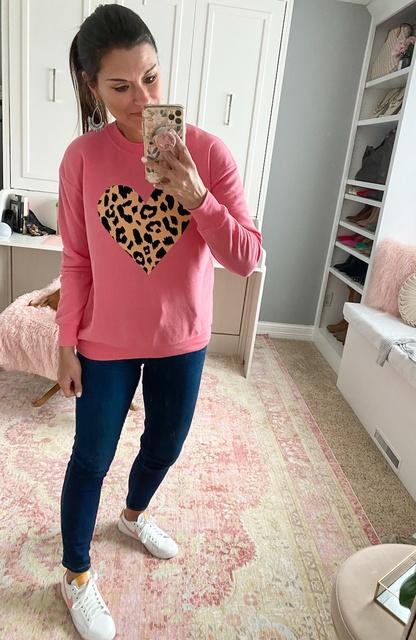 in the sweatshirt.  #justpostedblog #ShopStyle #shopthelook #MyShopStyle #OOTD #LooksChallenge #ContributingEditor #Lifestyle