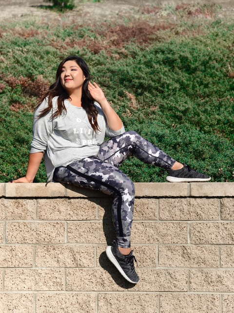 e fitness gear! Currently obsessed with all things athleisure and workout-related! #ad  #shopthelook #ShopStyle #TravelOutfit