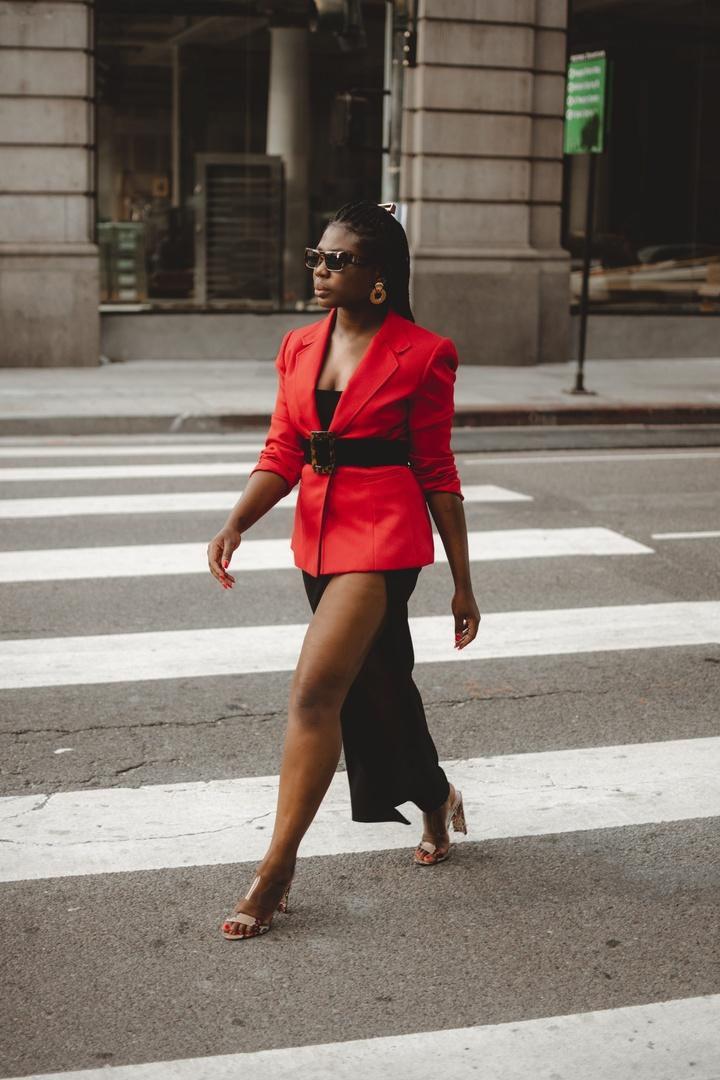 Look by Niké Ojekunle featuring Pomellato - 18-karat Rose Gold Hoop Earrings