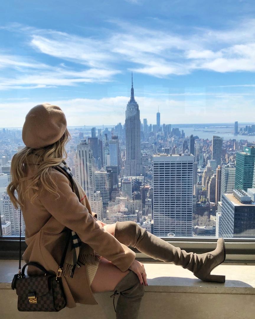 Top of The Rock #newyork #topoftherock #ShopStyle #shopthelook #MyShopStyle #SpringStyle #winterstyle #shopmylook #ootd #TravelOutfit #WeekendLook