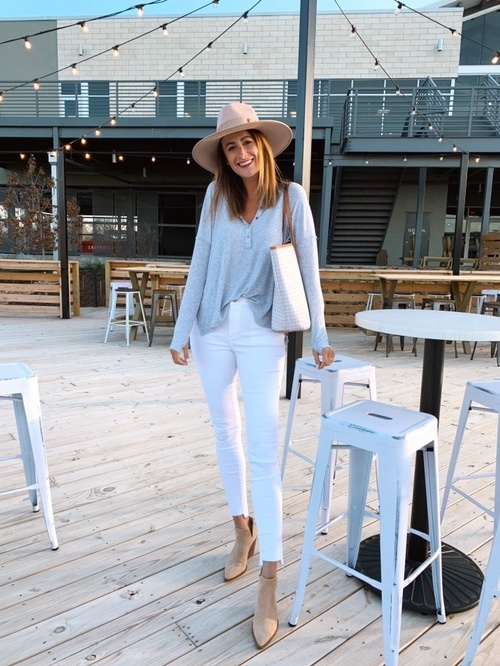 Look by Amanda Miller featuring a.n.a Womens High Rise Jegging