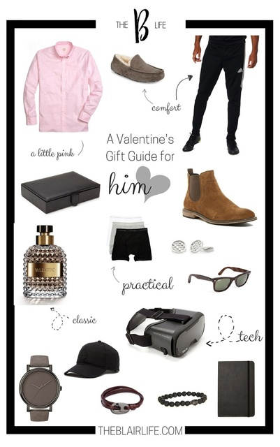 Gift ideas for the guy in your life! #hisstyle #valentinesday #giftguide #ShopStyle #getthelook