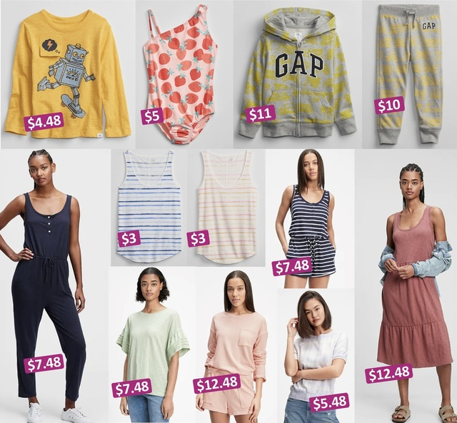 Use code GFQUICK to take an EXTRA 50% off clearance items at Gap Factory!!! Tons of great deals for the entire family!