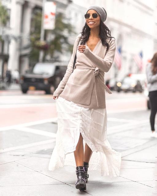 Sweater weather, but make it cashmere! #FallFashion #FallStyle #SweaterWeather