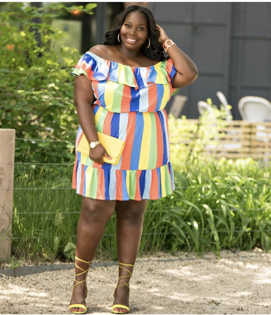 Pretty summer plus size dresses