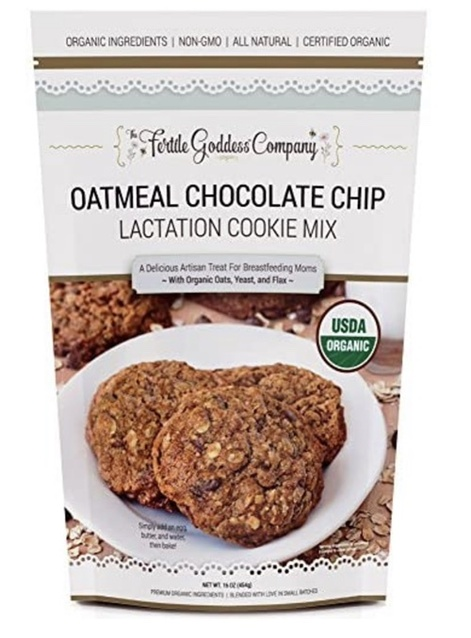 This mix makes yummy cookies that help keep my milk supply up.