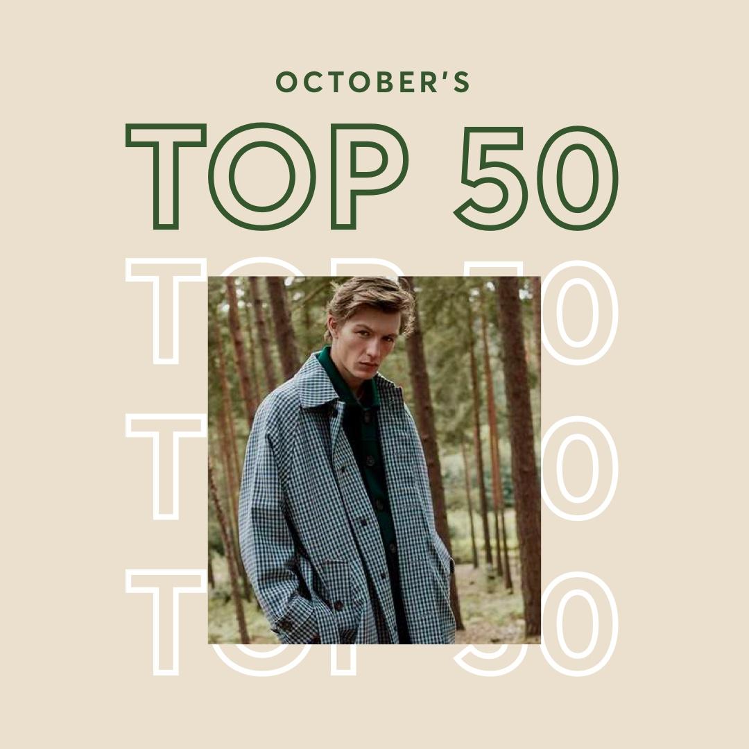Men's October Top 50