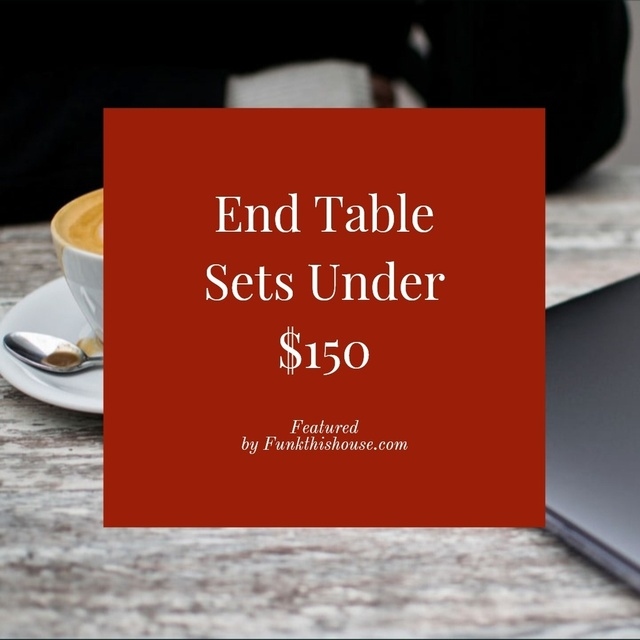 Coffee Table Sets Under $150
