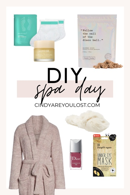 binge some Netflix while you paint your toenails. Easy peasy. #spaday #quarantine #diy #sephora #target #MyShopStyle #Winter