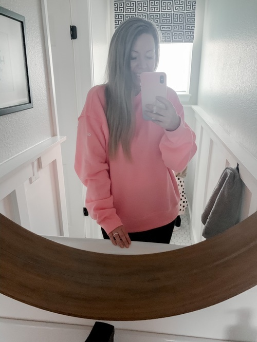 Alo Yoga Womens Freesetyle Sweatshirt Sweatshirt