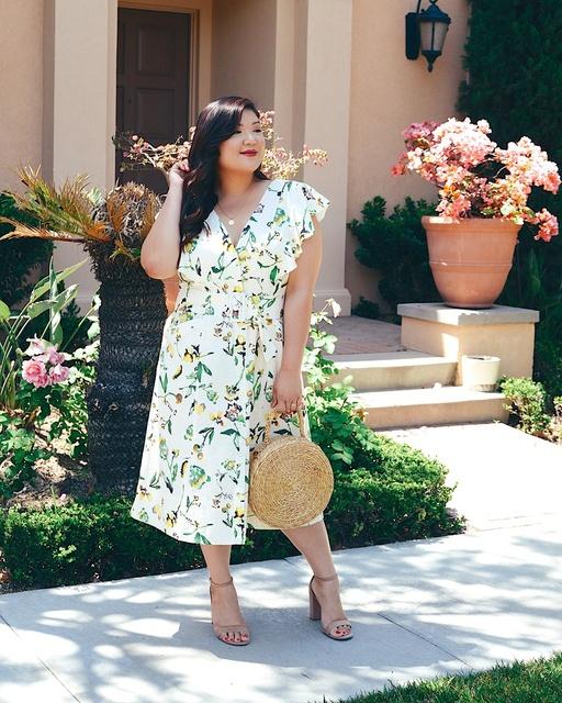11 Honore Tanya Taylor Plus Size Inez Dress