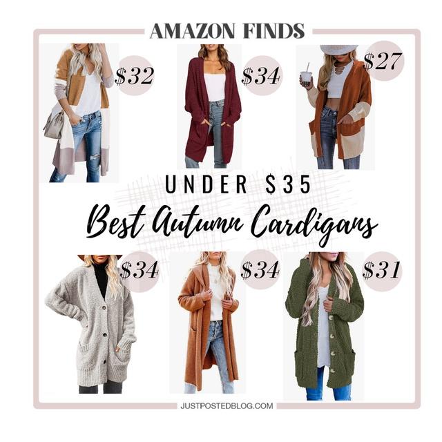Best Cardigans Under $35 from Amazon
