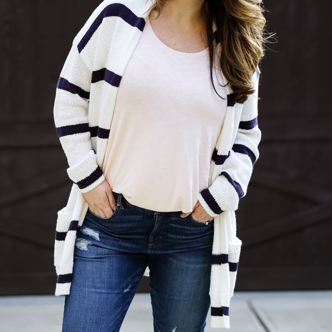 e you to grab a pair. Cardigan, tank, shoes and jeans run tts.    #ShopStyle #MyShopStyle #LooksChallenge #ContributingEditor