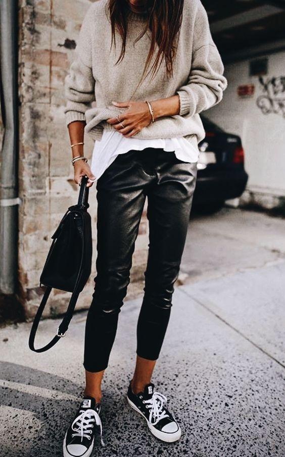 leather always works    #PivotFashion #shopthelook #PivotStyle #leather