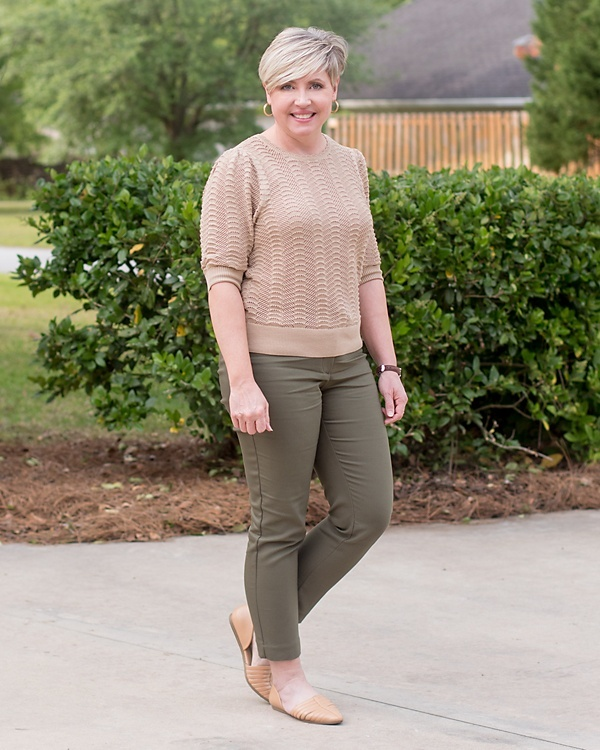 Look by Savvy Southern Chic featuring Adinas Jewels Chunky Twisted Hoop Earrings
