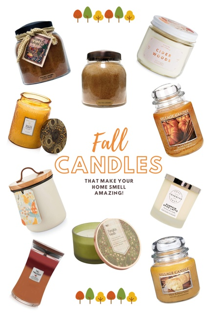 home smell amazing.  Here are a few of my favorite Autumn candles! 🍁🍂 #ShopStyle #Holiday #fall #autumn #candles #Lifestyle