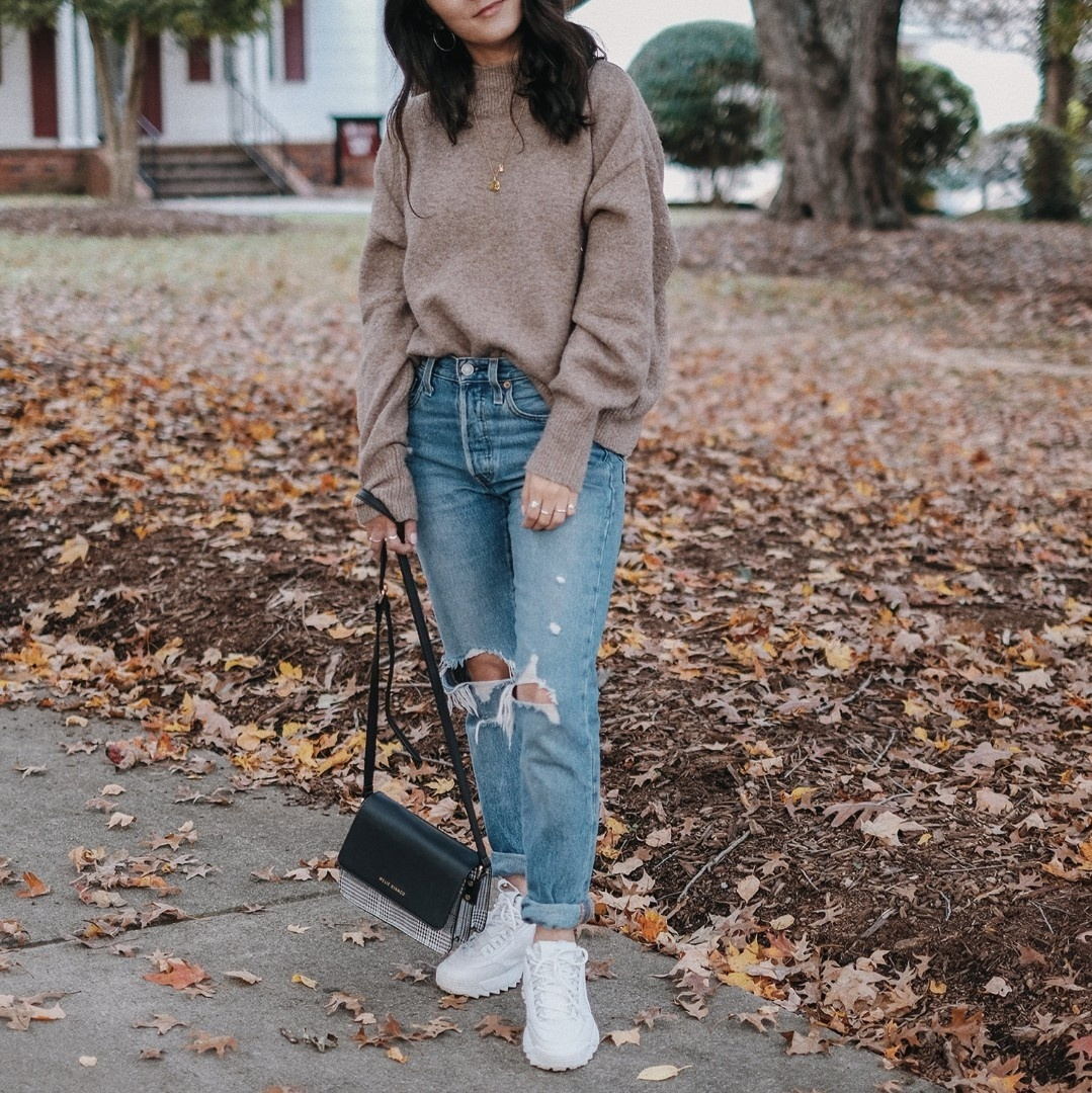 Fashion Look Featuring Fila Sneakers and Levi's Teen Girls' Denim by simplynancy ShopStyle