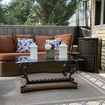 Great outdoor seating options for less!