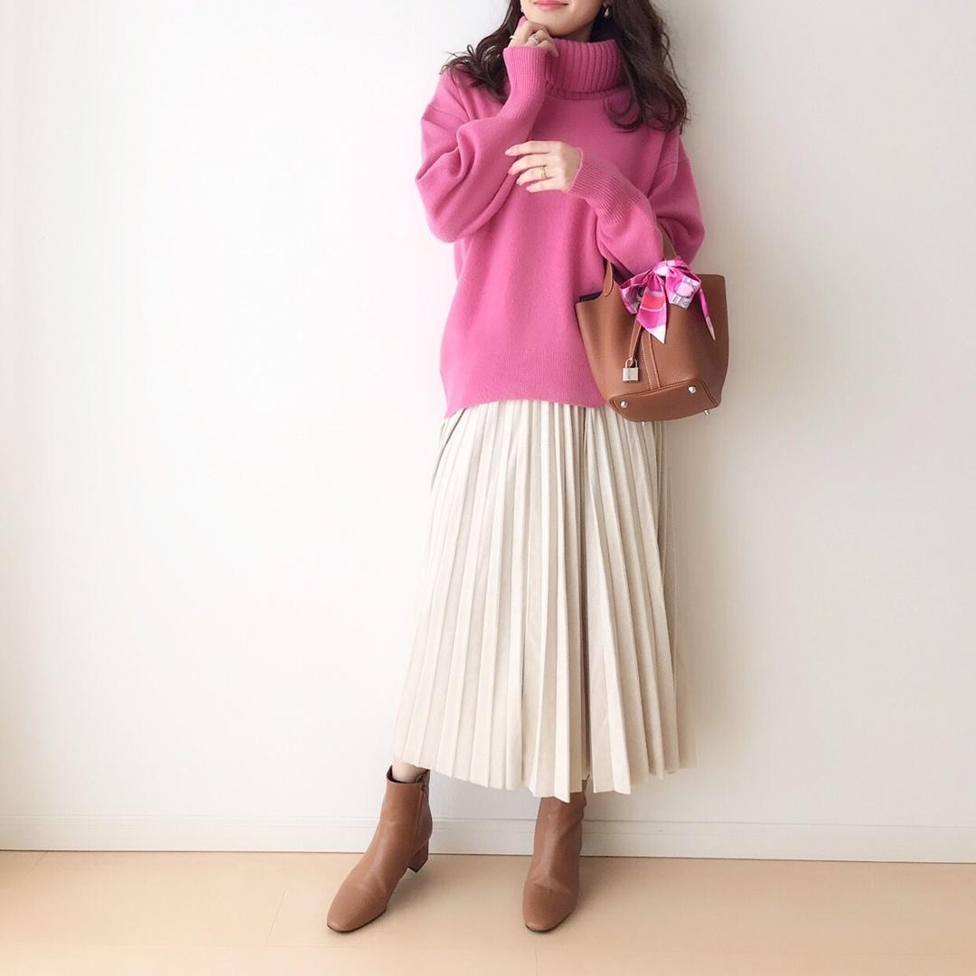 knit...#PLST #プラステ #plstアンバサダー @plst_official  skirt...#fifth @fifth_store  bag...#hermes #エルメス @hermes  #picotin ・ ☑︎boots... #sslooksjp #shopstylejp #sscollectivejp #pr @shopstylejp・   #ShopStyle #MyShopStyle #Winter #Holiday #Lifestyle