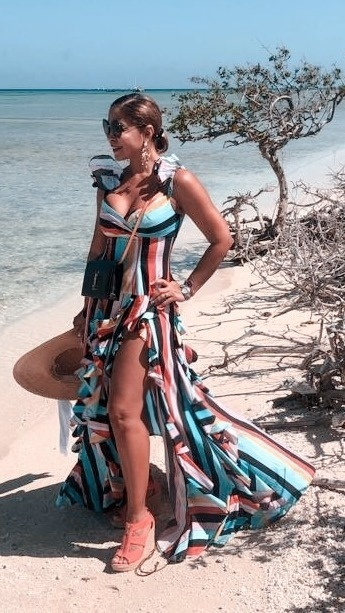 Loving my dress by Caroline Constas. #MyShopStyle #Party #Lifestyle #ShopStyle #miamifashionspotlight #over50fashion #Travel