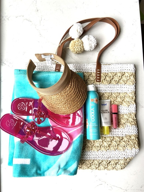 All the essentials for the perfect pool day.  Just add a beach book and you're set!