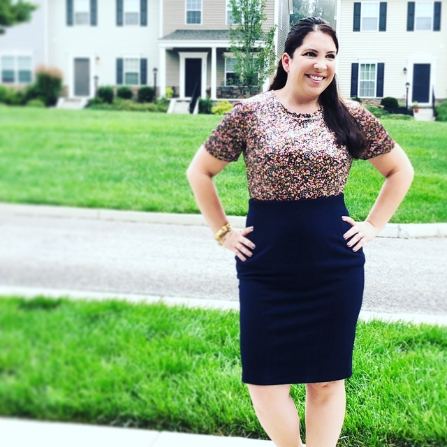 arathon for me, but this top and skirt pulled me through! #ShopStyle #shopthelook #MyShopStyle #WearToWork #OOTD #fallfashion