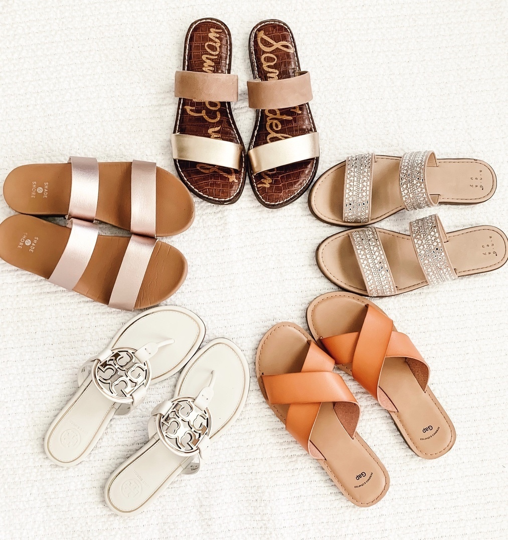 Look by welldressedbff featuring Shade & Shore Women's Dedra Slide Sandals - Shade & Shore