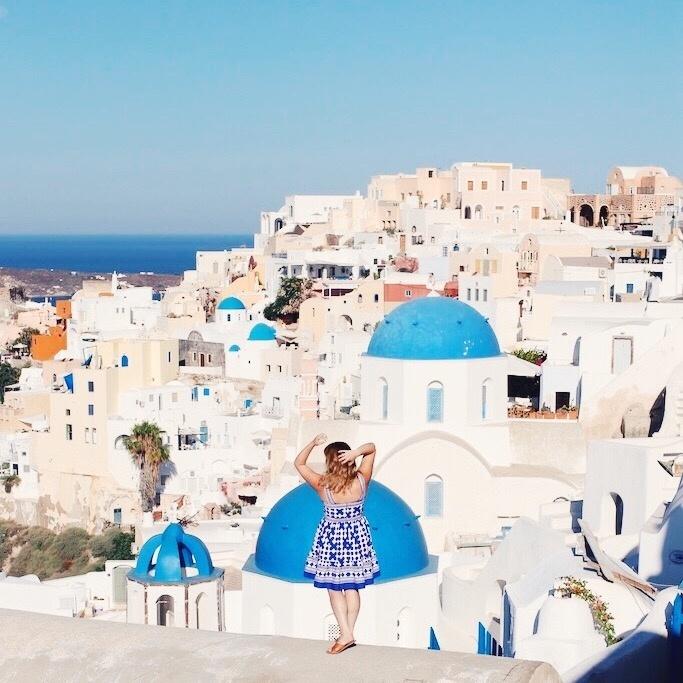 #WhereIWishIWasWednesday Take me back to Santorini #ootd #astudyinchic #santorini #travelstyle #greece #ShopStyleCollective #MyShopStyle #ssCollective #wearitloveit #summerstyle #lookoftheday #getthelook #mylook