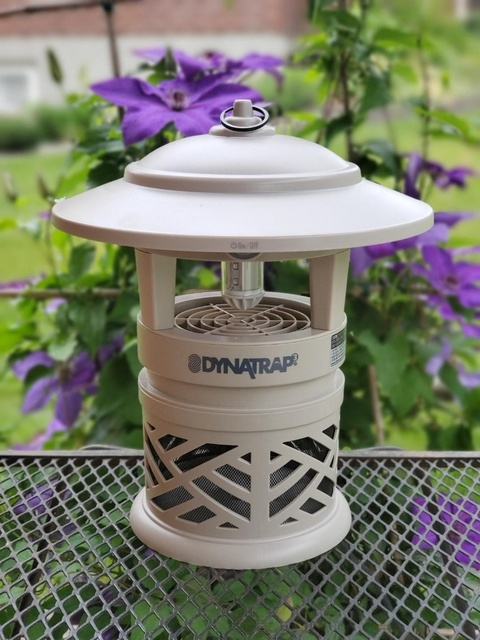The New! DynaTrap LED Mosquito and Insect Trap