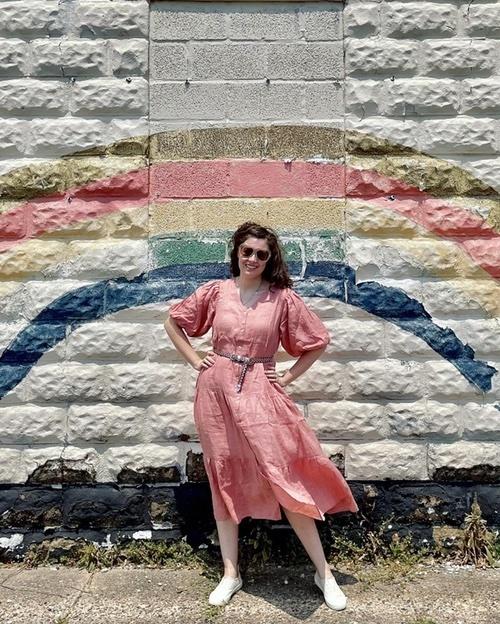 A perfect linen dress for summer!