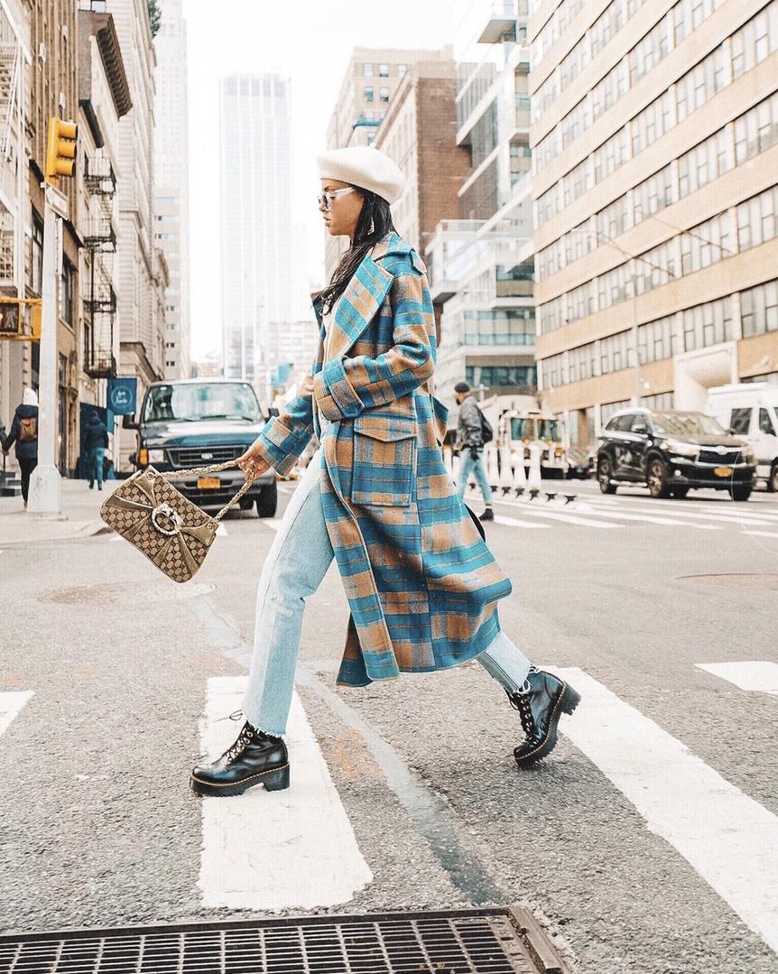 You plaid me at hello. #ShopStyle #MyShopStyle #Winter #TrendToWatch #plaid #coat #checkcoat #nordstrom