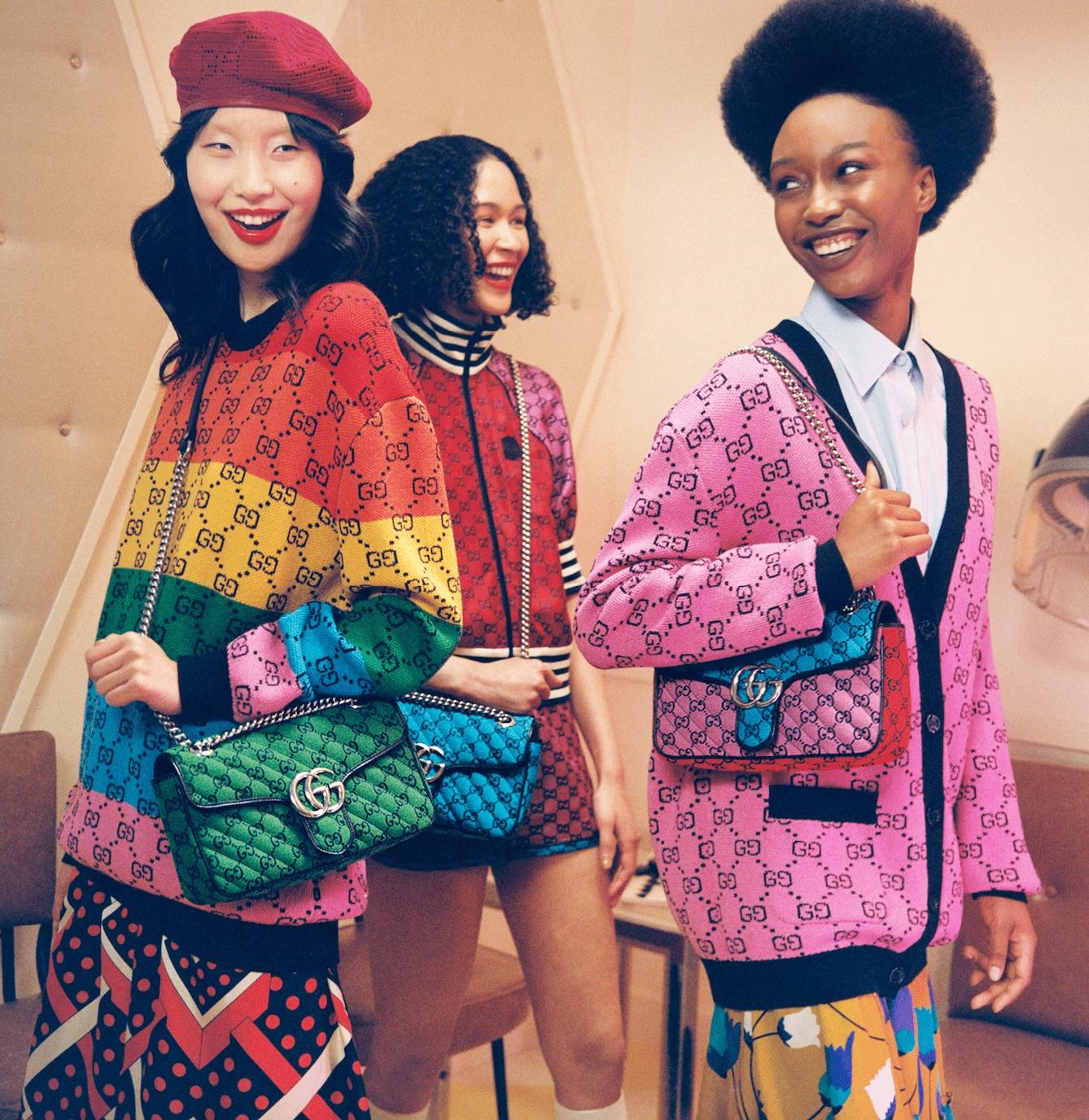 Discover Gucci's GG Multicolour Collection